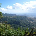 Treasure hunt: view from the lookout over the Chiriquí province