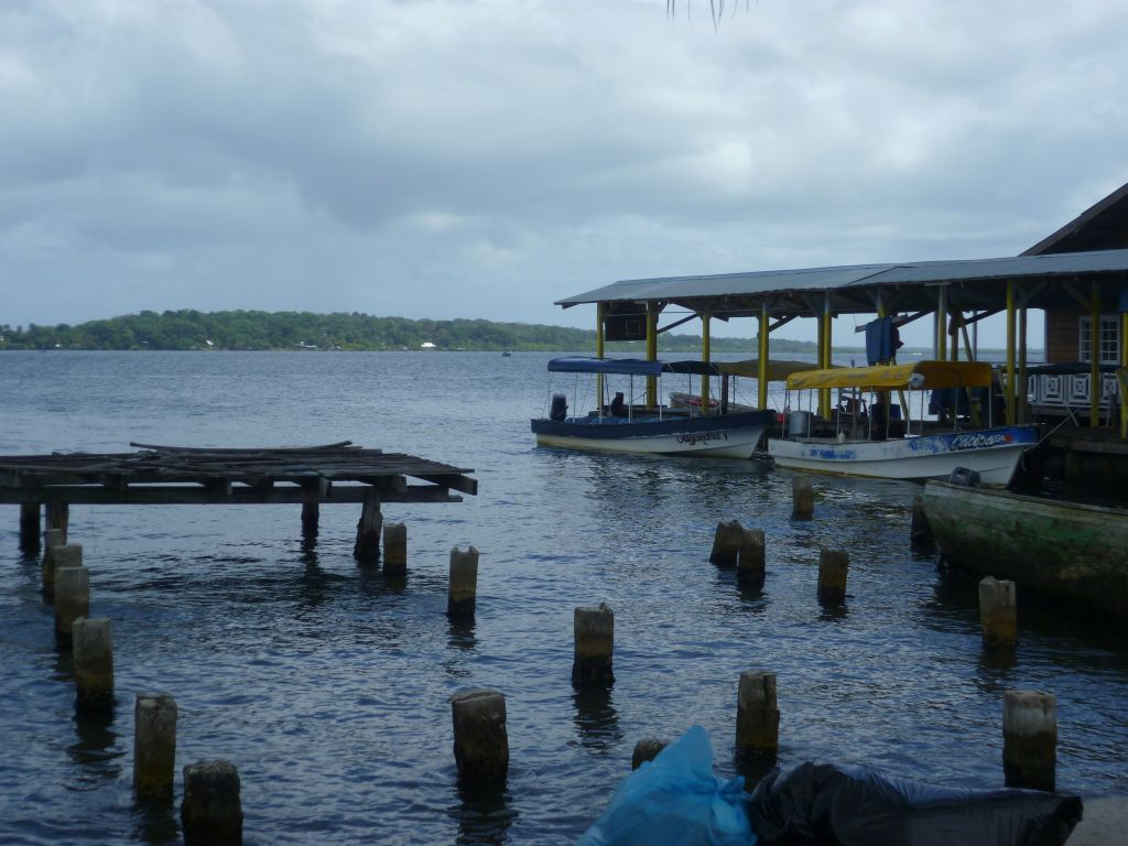 Bocas del Toro: one of the small ports
