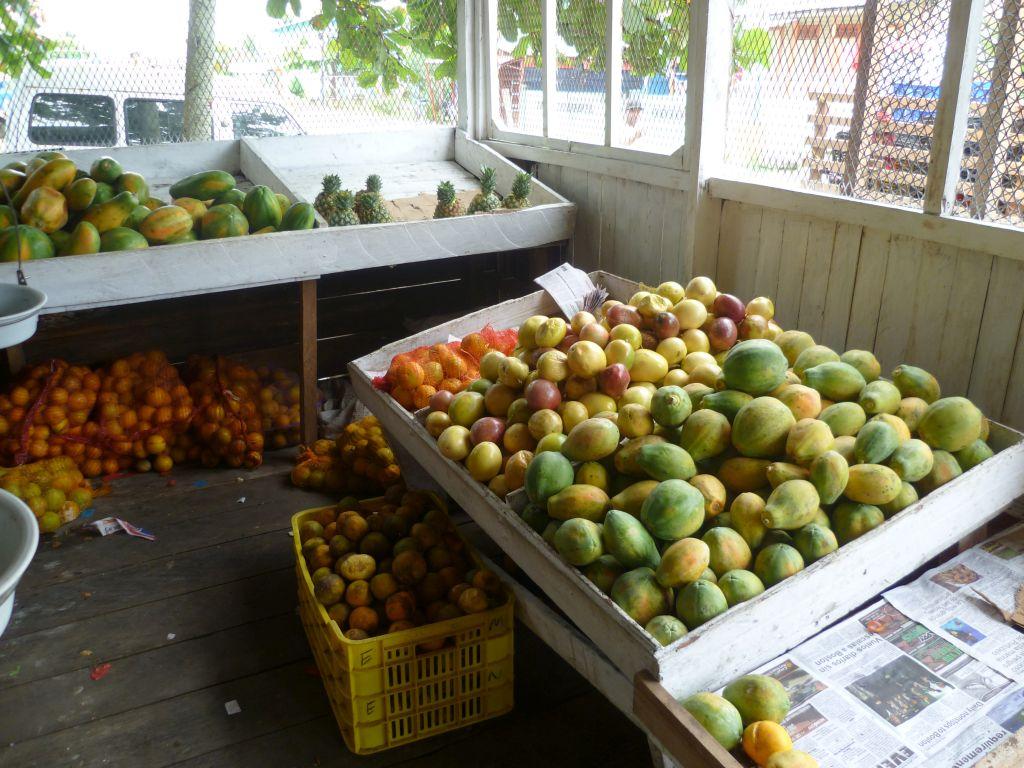 Bocas del Toro: verdulería y frutería