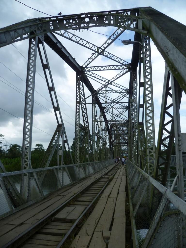 Border Panama/Costa Rica: the bridge you have to cross