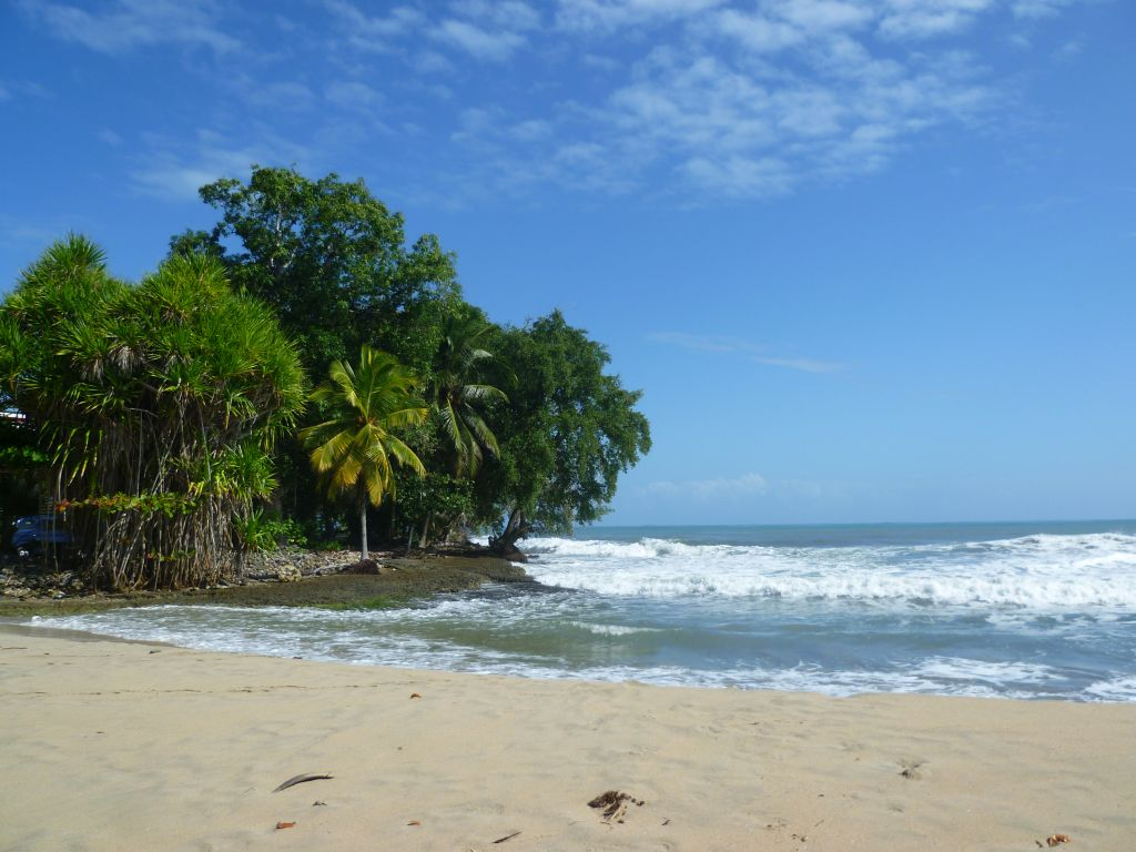 Cahuita National Park: near the entrance
