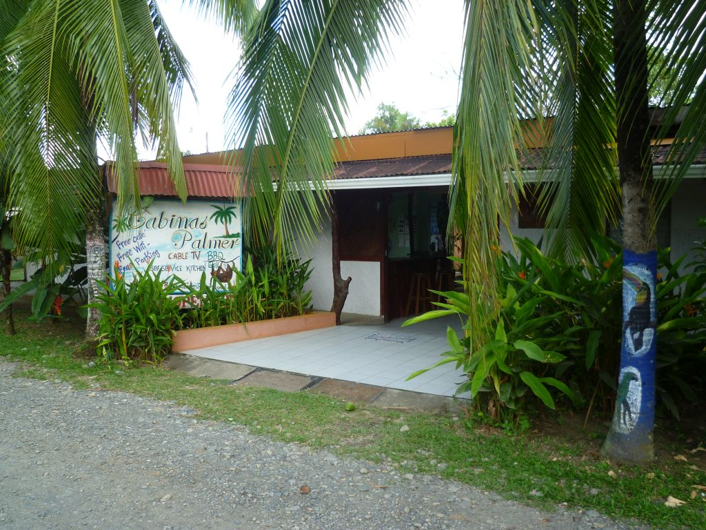 Cabinas Palmer: entrance