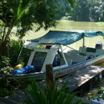 Trip to Tortuguero 1: our boat