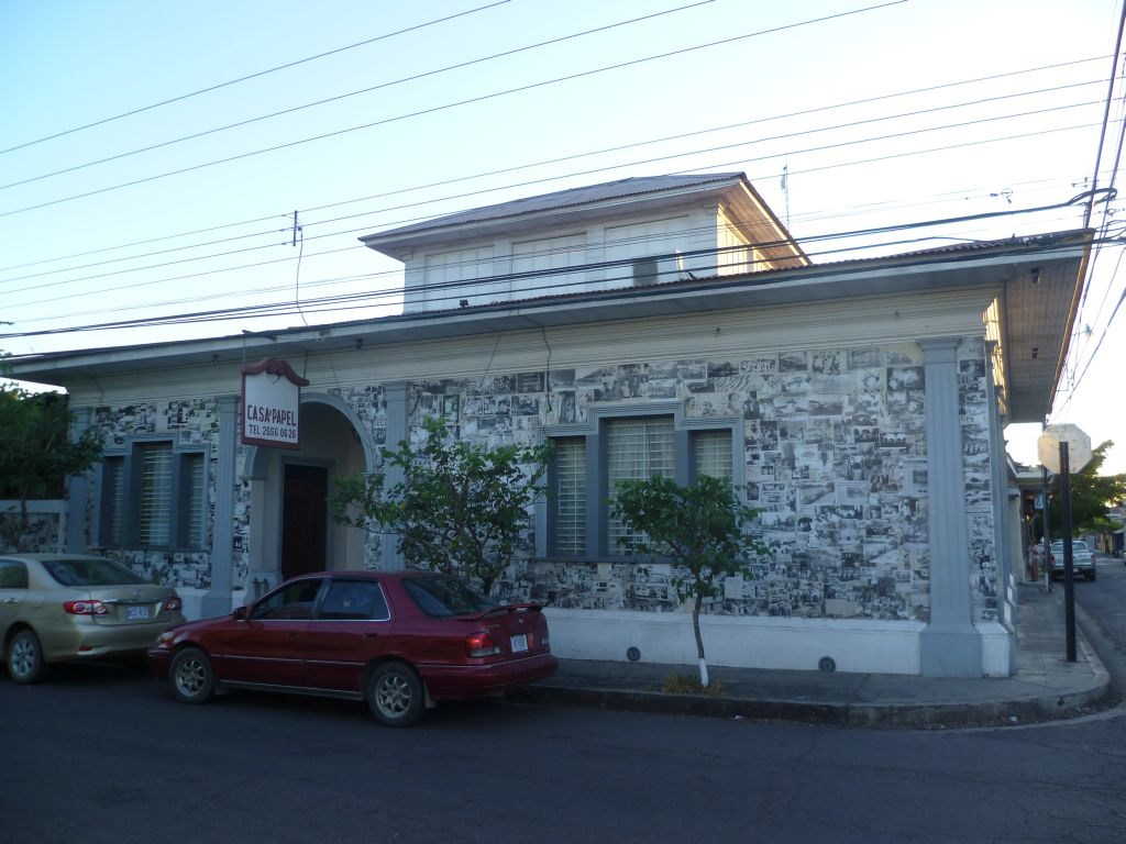 Liberia 3: casa del papel