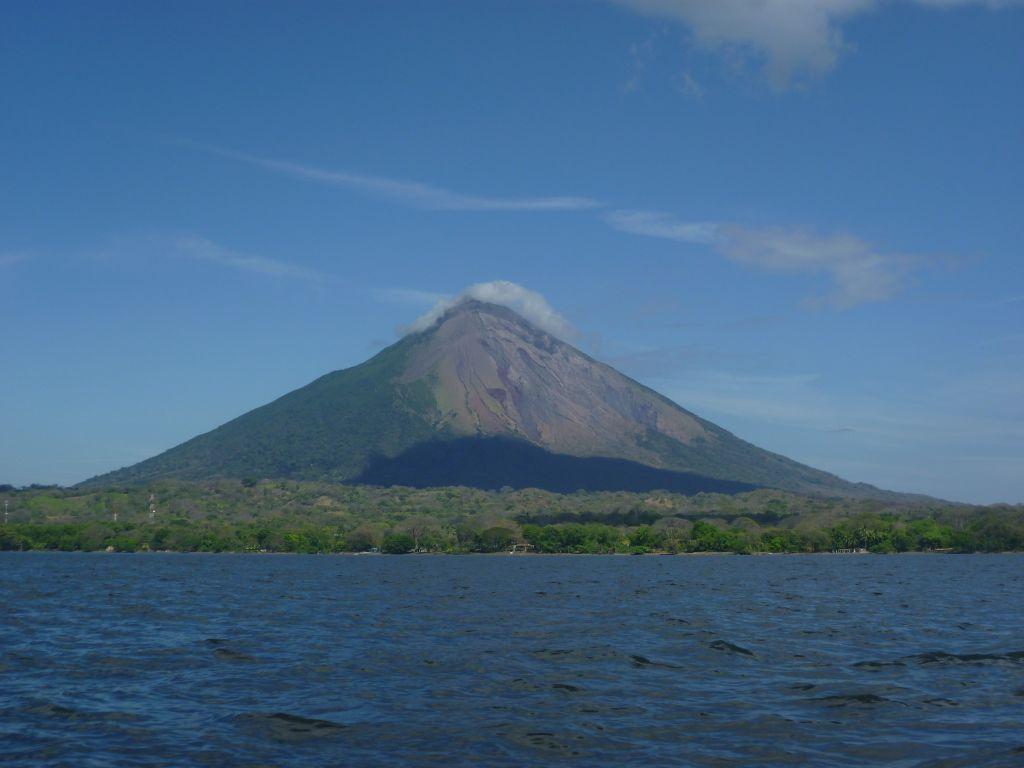 View of Isla de Ometepe 2: volcán Concepción