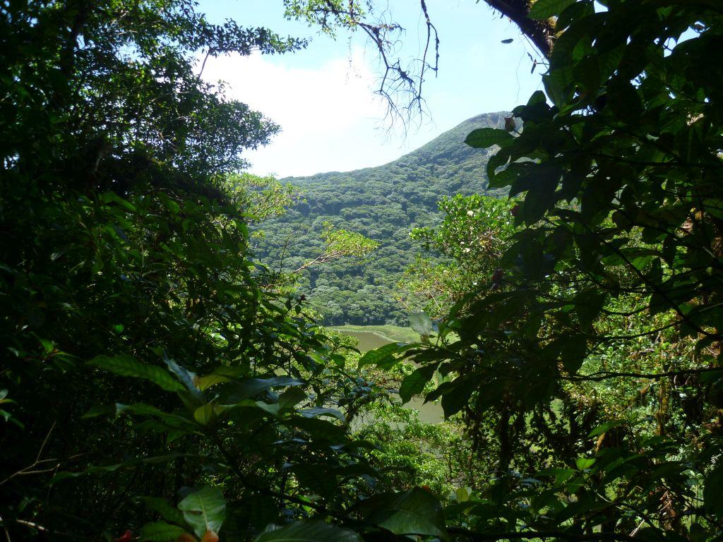 Isla de Ometepe 6: lagoon of volcan Maderas