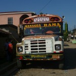 El Rama 2: my bus back to Managua