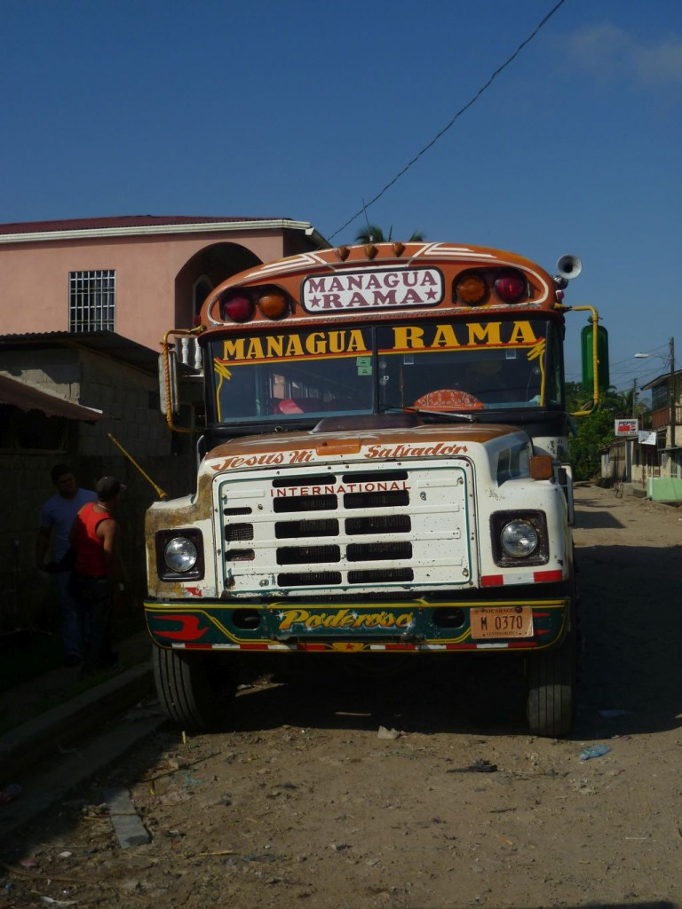 El Rama 2: my bus back to Managua