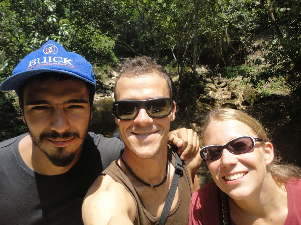 Simon, Alex and Ines (picture taken by Alex)