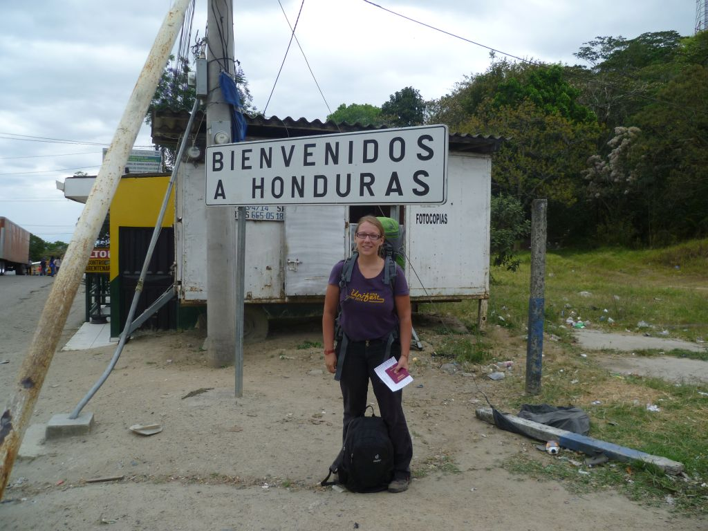At the border to Honduras