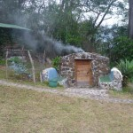 Earth Lodge 6: Maya sauna
