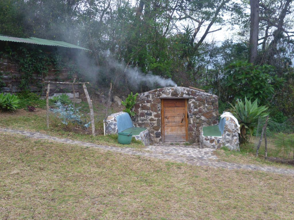 Earth Lodge 6: Maya sauna