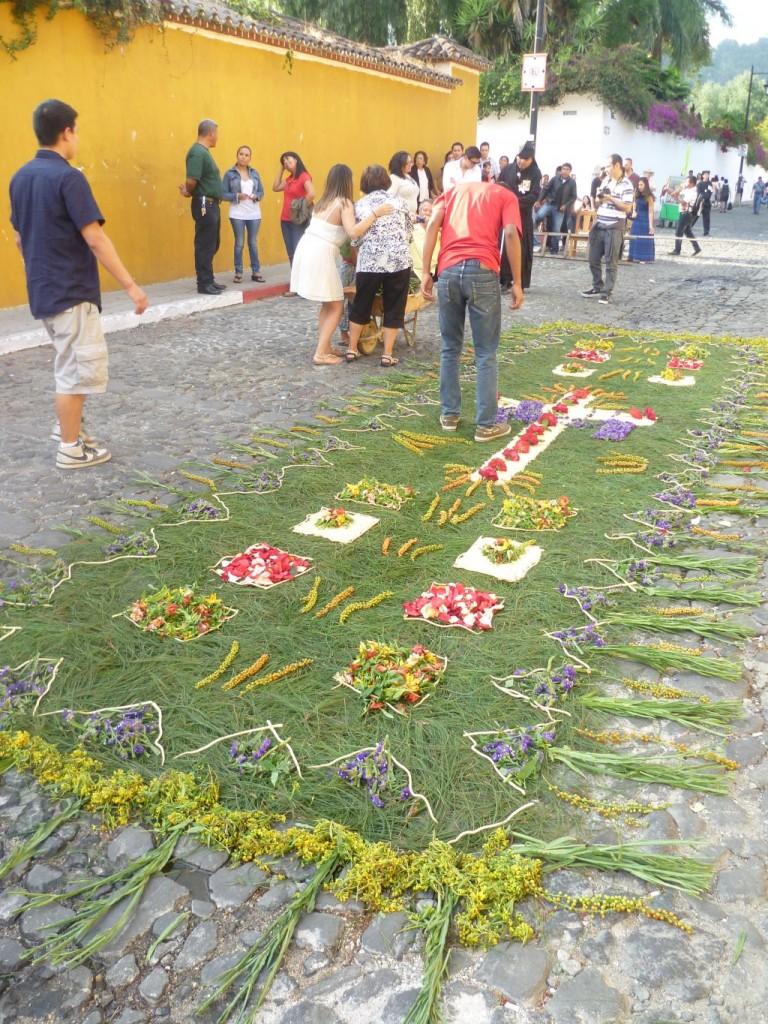 Antigua -flower carpet