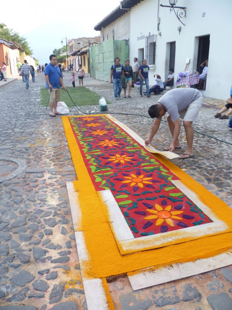 Antigua - another colorful carpet