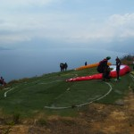 Paragliding 1: the starting field
