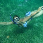 Sailing trip 8: me snorkeling (picture taken by Cathryn)