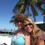 Caye Caulker 9: Cathryn and me
