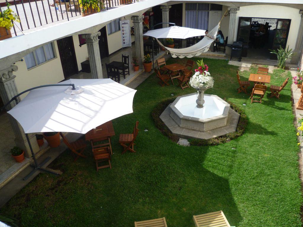 La Posada de San Carlos 3: common area from the terrace