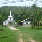 Roátan 3: church close to the hostel