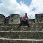Tikal 7: me on one of the temples