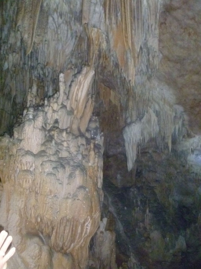 Crystal Cave 5: inside the cave
