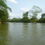 Canoe-Tour 9: canoeing on the Belize-River