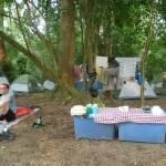 Canoe-Tour 6: camp-site