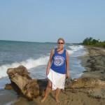 Hopkins 3: me at the beach