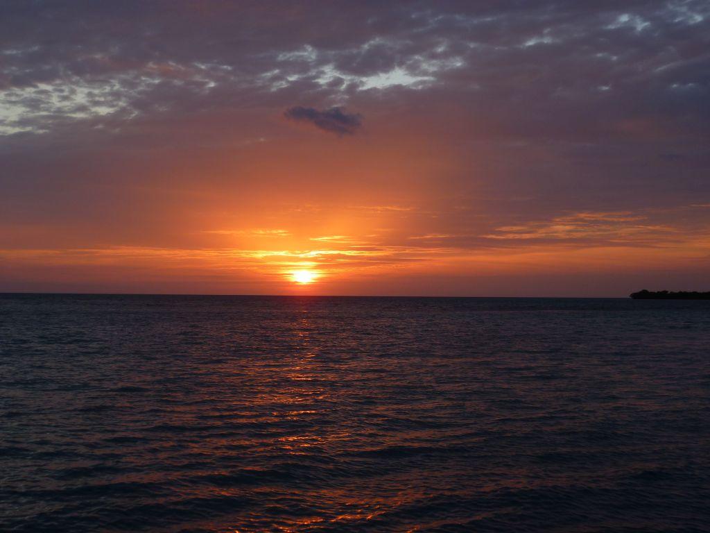 Caye Caulker 8: sunset