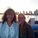 Toronto 4: Cathryn and me on the ferry to Toronto Island