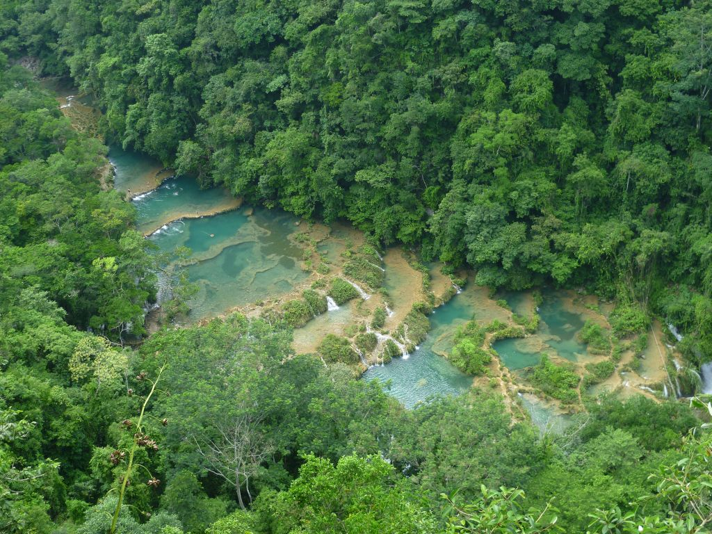 Semuc Champey 1: top view