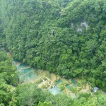 Semuc Champey 2: top view