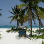 Tulum 7: on the beach