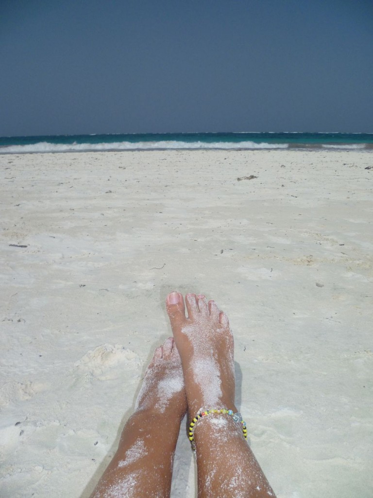 Tulum 8: my view on the beach