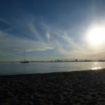Toronto 6: on the beach of Toronto Island