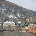 "Heidelberg 1: view onto the ""snake trail""; Winter 2010"