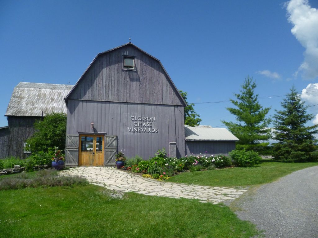 Winery tour 3: one of the wineries