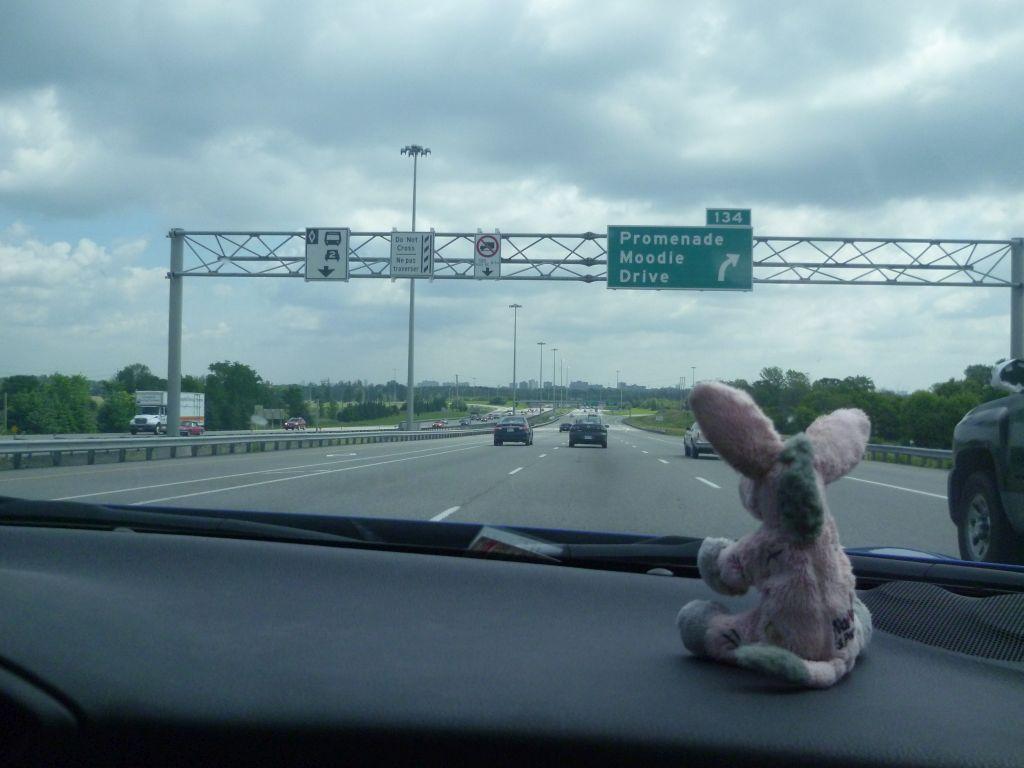 On our way to Ottawa