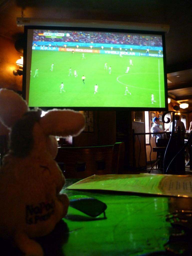 Ottawa 6: Marie watching the German-Algerian game