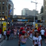 Canada Day 1: in the streets