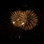Canada Day 8: fireworks in the night