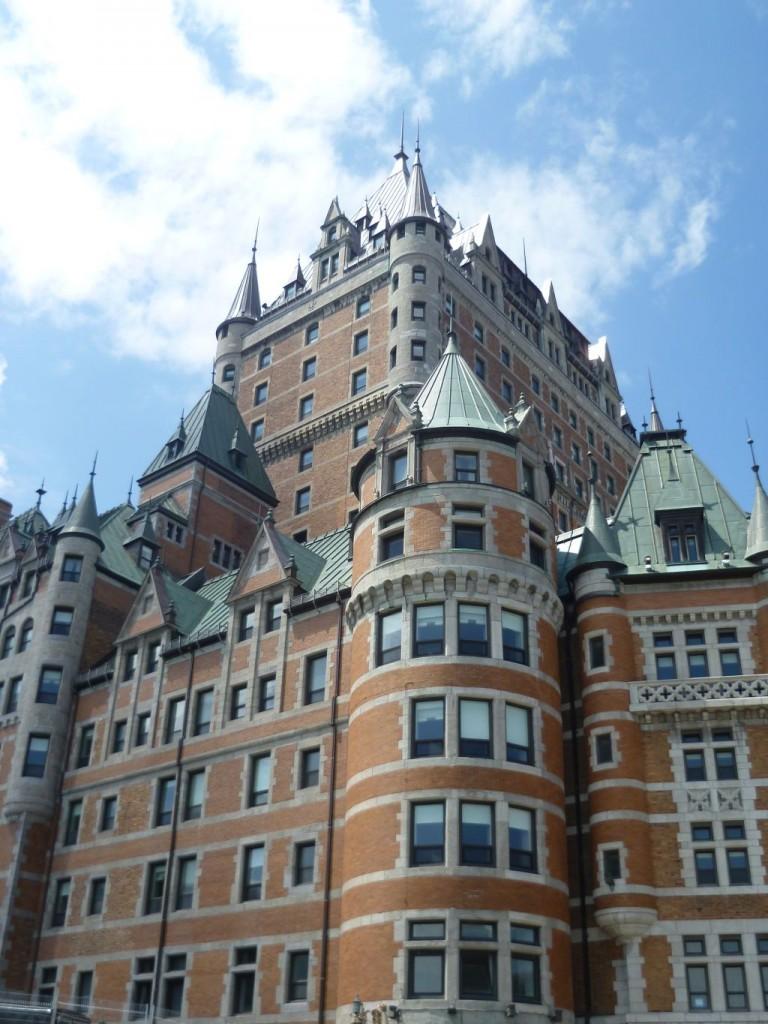 Quebec City 4: castle Frontenac