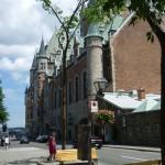 Quebec City 3: castle Frontenac
