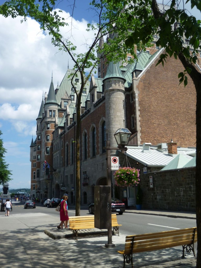 Quebec City 3: castle Frontenac