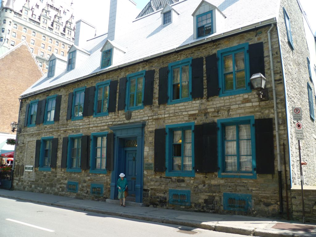 Quebec City 2: the oldest house in the city