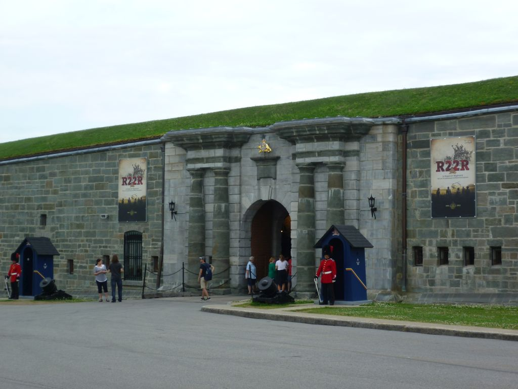 Quebec City 6: entrance of the Citadelle