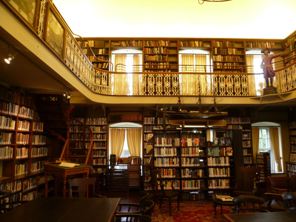 Quebec City 15: old library in one of the first colleges in Quebec City