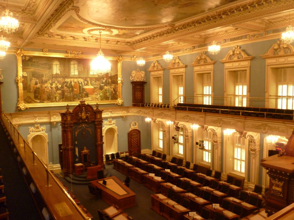 Quebec City 12: inside the parliament