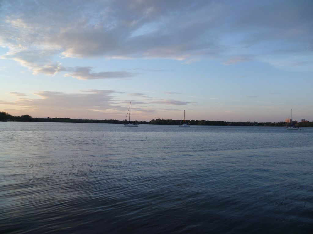 Kingston 2: view from the sailing boat