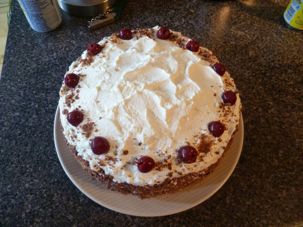 Black Forest Cake (Canadian version)